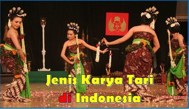 Jenis karya tari di Indonesia