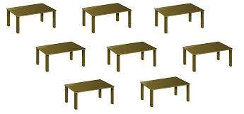 jumlah meja kelas 1 tema 1