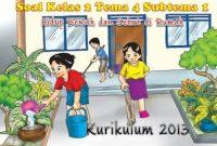 soal tematik kelas 2 tema 4 subtema 1